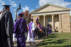 Honors Day procession