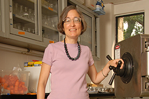 Professor of Biology Joan Slonczewski