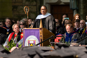Wynton Marsalis at the Class of 2019 commencement ceremony