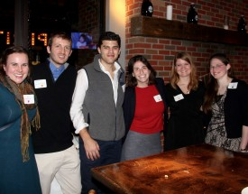 Kenyon alumni and students