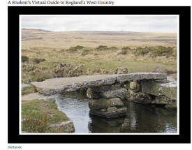 A student's virtual guide to England's West Country