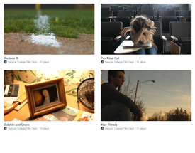 Images from student films