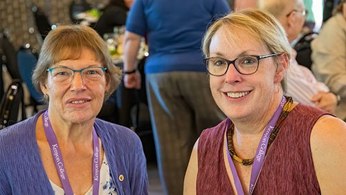 Christine Gould Sharkey '80 and Allison Gould Gallaher '79