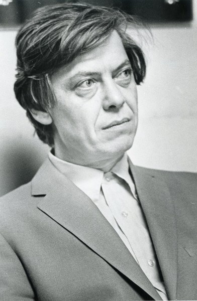 A portrait of William Gass.