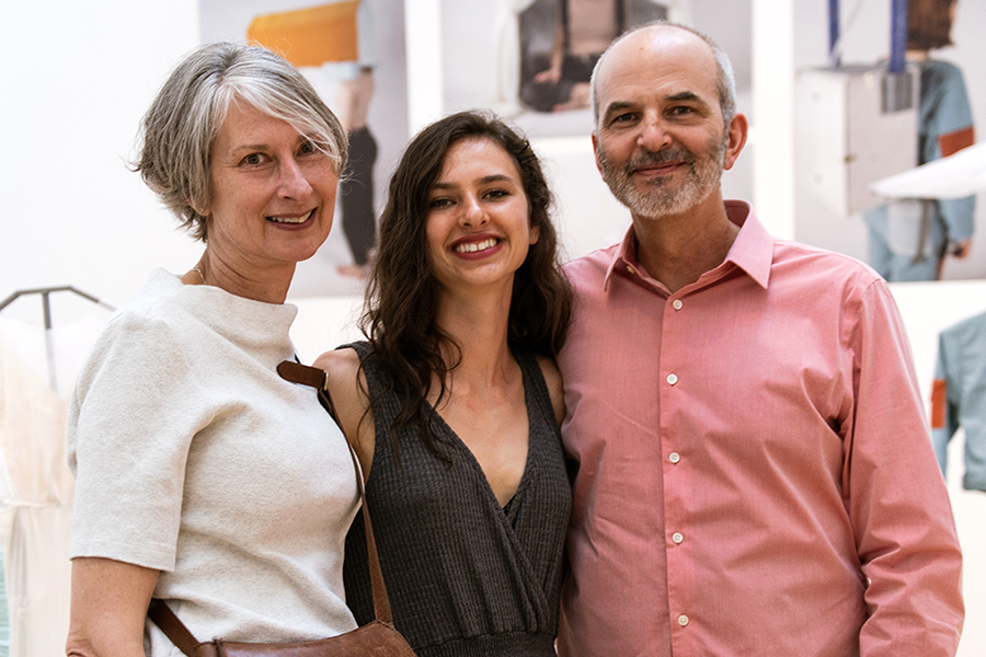 Rosa and her parents